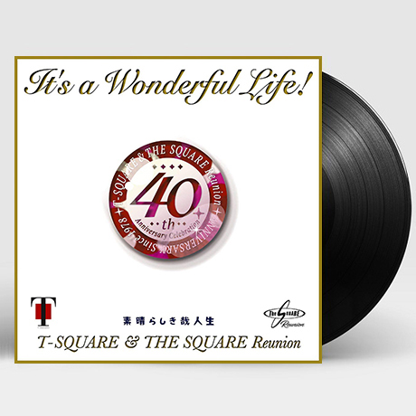 IT`S A WONDERFUL LIFE! [40TH ANNIVERSARY REUNION] [한정반] [LP]