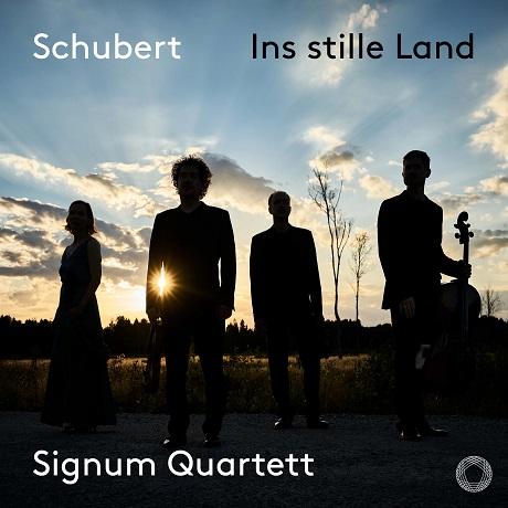 INS STILLE LAND/ SIGNUM QUARTETT [조용한 나라로: 슈베르트 가곡집(현악사중주 버전) - 지그넘 사중주단]