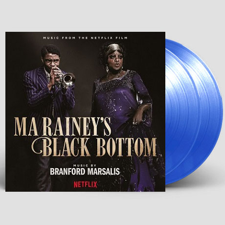 MA RAINEY`S BLACK BOTTOM [NETFLIX FILM] [마 레이니, 그녀가 블루스] [180G CLEAR BLUE]
