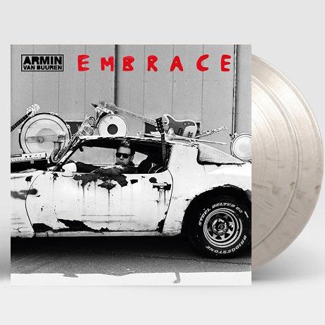 EMBRACE [180G BLACK/WHITE MARBLED LP]