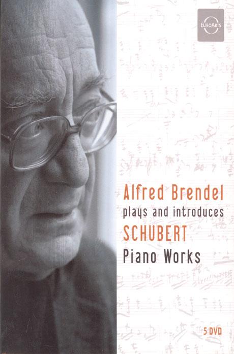 알프레드 브렌델이 해설하고 연주하는 슈베르트 후기피아노 작품집 박스세트 [ALFRED BRENDEL: SCHUBERT PIANO WORKS]