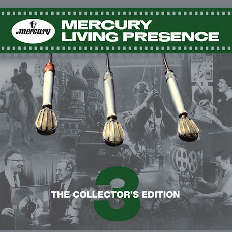MERCURY LIVING PRESENCE: THE COLLECTOR'S EDITION 3 [머큐리 리빙 프레즌스 3] [한정반]