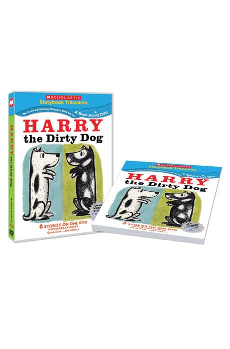 스콜라스틱 LEVEL 04 [DVD+BOOK] [SCHOLASTIC: HARRY THE DIRTY DOG]