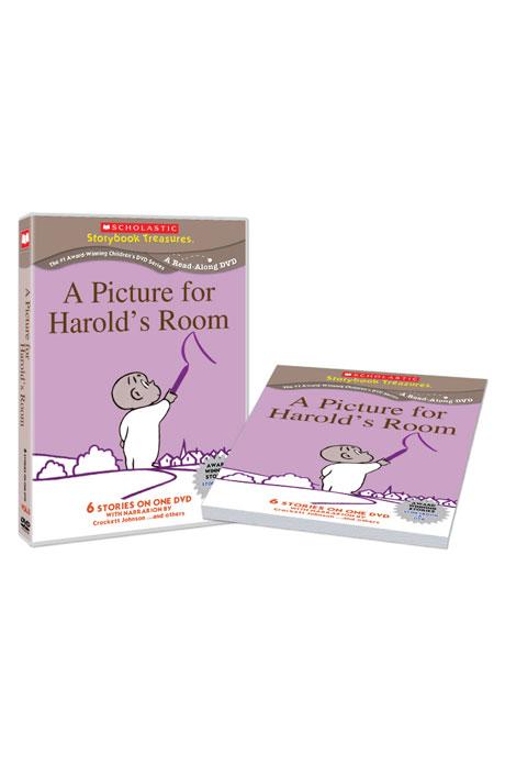 스콜라스틱 LEVEL 05 [DVD+BOOK] [SCHOLASTIC: A PICTURE FOR HAROLDS ROOM]