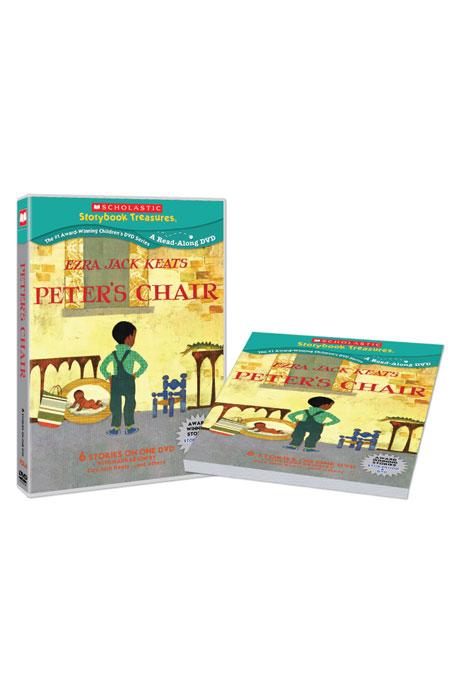 스콜라스틱 LEVEL 06 [DVD+BOOK] [SCHOLASTIC: PETERS CHAIR]