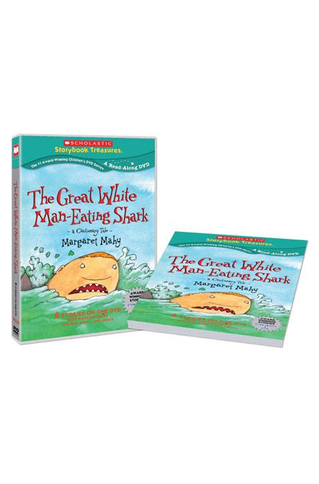 스콜라스틱 LEVEL 15 [DVD+BOOK] [SCHOLASTIC: THE GREAT WHITE MAN-EATING SHARK]