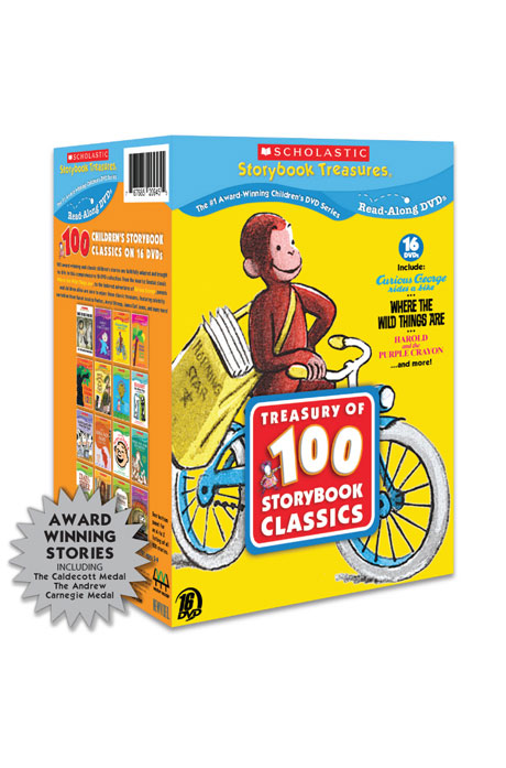 스콜라스틱 16 세트 [SCHOLASTIC TREASURY OF 100 STORYBOOK CLASSICS]