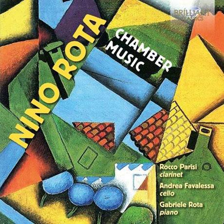 CHAMBER MUSIC/ ROCCO PARISI, ANDREA FAVALESSA, GABRIELE ROTA [니노 로타: 챔버 뮤직]