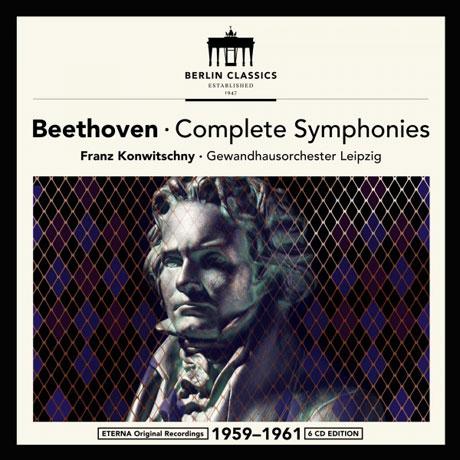 COMPLETE SYMPHONIES/ FRANZ KONWITSCHNY [베토벤: 교향곡 전곡 & 코리올란, 레오노레, 피델리오 서곡 외 - 콘비츠니]