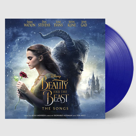 BEAUTY AND THE BEAST: THE SONGS [LIMITED EDITION] [BLUE LP] [미녀와 야수: 노래수록]