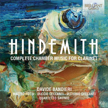COMPLETE CHAMBER MUSIC FOR CLARINET/ DAVIDE BANDIERI [힌데미트: 클라리넷을 위한 실내악 전곡]