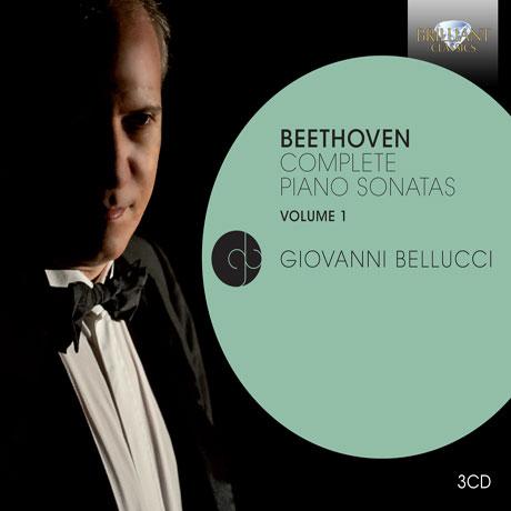 COMPLETE PIANO SONATAS VOL.1/ GIOVANNI BELLUCCI [베토벤: 피아노 소나타 전곡 1집 - 지오바니 벨루치]