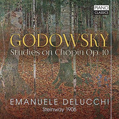 STUDIES ON CHOPIN OP.10/ EMANUELE DELUCCHI [고도프스키: 왼손을 위한 쇼팽 연습곡에 대한 연구집(편곡집)]