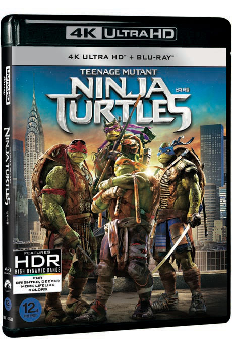 닌자 터틀 4K UHD+BD [TEENAGE MUTANT NINJA TURTLES]