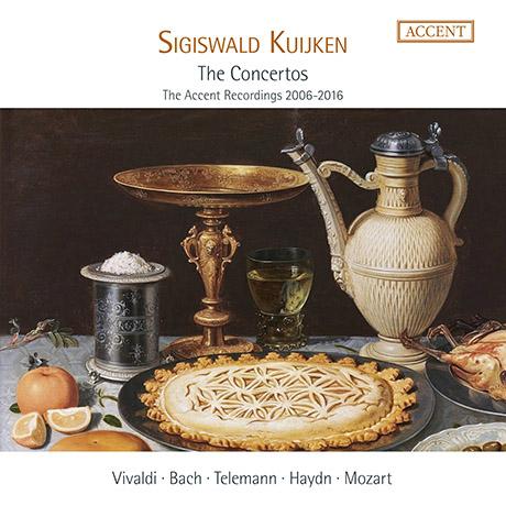 THE CONCERTOS: THE ACCENT RECORDINGS 2006-2016/ SIGISWALD KUIJKEN [라 프티트 방드 & 카위컨: 75세 생일 기념 협주곡 에디션]