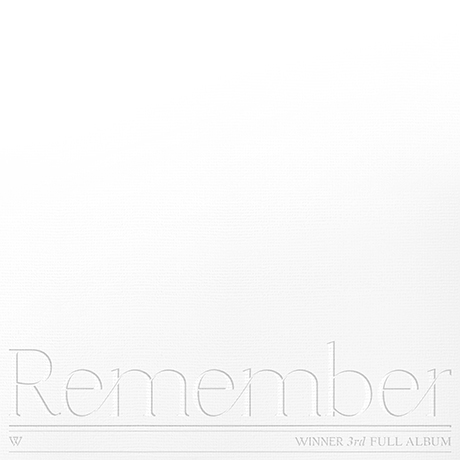 3RD FULL ALBUM [Remember][YOU VER]