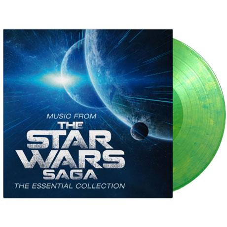 MUSIC FROM THE STAR WARS SAGA [스타워즈 영화음악 베스트 모음집] [YODA-GREEN MARBLED] [180G LP]