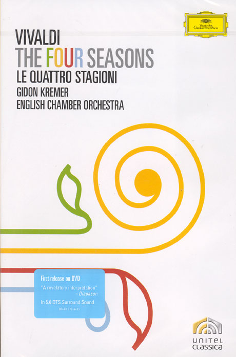 THE FOUR SEASONS/ LE QUARTTRO STAGIONI, GIDON KREMER [비발디 사계/ 기돈 크레머]