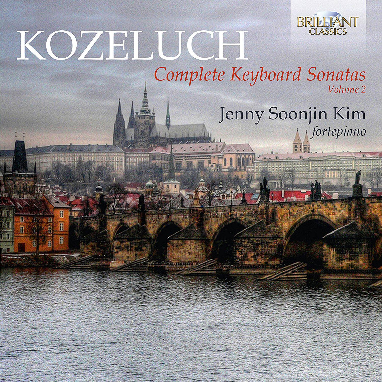 COMPLETE KEYBOARD SONATAS VOL.2/ JENNY SOONJIN KIM(김순진) [코젤루흐: 키보드 소나타 작품 전곡 2집]