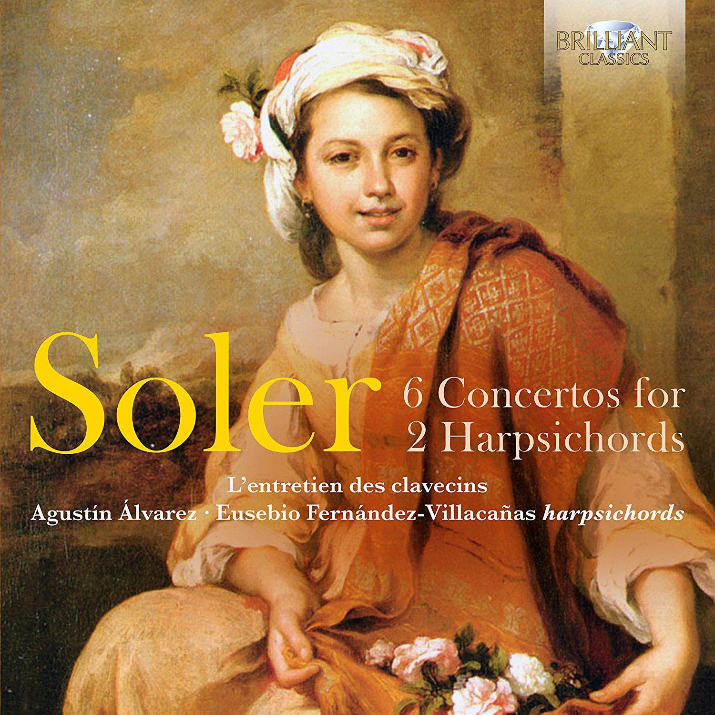 6 CONCERTOS FOR 2 HARPSICHORDS/ AGUSTIN ALVAREZ, EUSEBIO FERNANDEZ-VILLACANAS [솔레르: 2대의 하프시코드를 위한 6개의 협주곡]