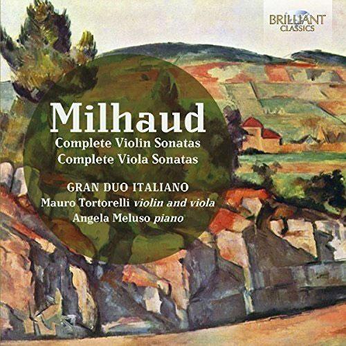 COMPLETE VIOLIN AND VIOLA SONATAS/ GRAN DUO ITALIANO [미요: 바이올린 & 비올라 소나타 전곡집]