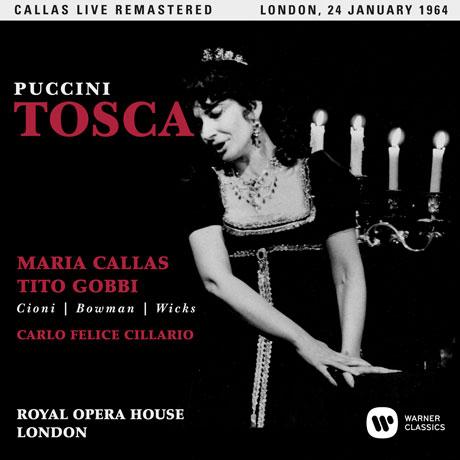PUCCINI: TOSCA/ CARLO FELICE CILLARIO [마리아 칼라스: 푸치니 토스카 - 1964년 런던 실황]