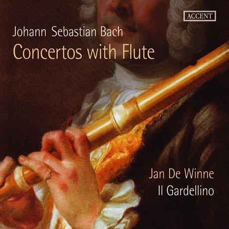 CONCERTOS WITH FLUTE/ IL GARDELLINO, JAN DE WINNE [바흐: 관현악 모음곡 2번, 브란덴부르크 협주곡 5번, 삼중 협주곡 - 일 가르델리노, 얀 더 위너]