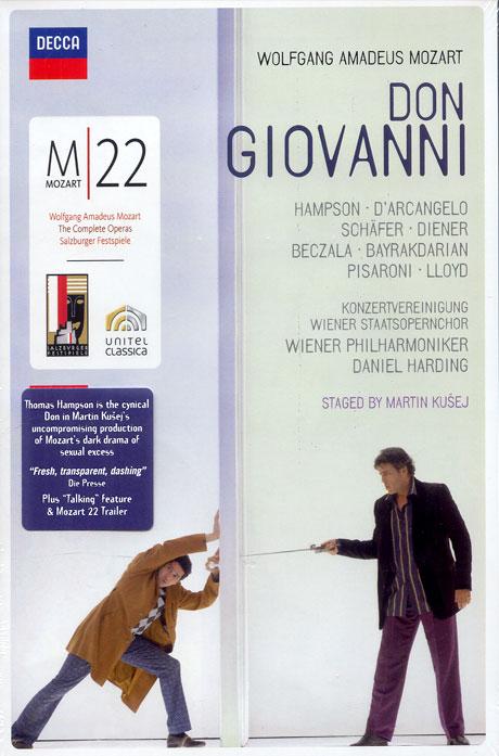 M 22: DON GIOVANNI/ DANIEL HARDING [모차르트: 돈 지오바니]