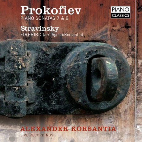 PIANO SONATAS & FIREBIRD/ ALEXANDER KORSANTIA