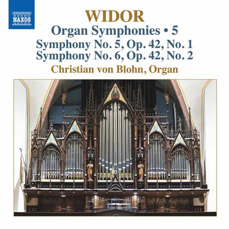 ORGAN SYMPHONIES VOL.5/ CHRISTIAN VON BLOHN [비도르: 오르간 교향곡 5, 6, 8번 4악장(오리지널 버전) - 크리스티안 폰 블론]
