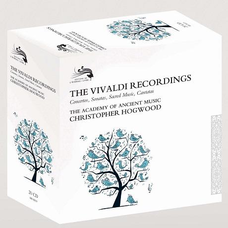 THE VIVALDI RECORDINGS: CONCERTOS, SONATAS, SACRED MUSIC, CANTATAS/ CHRISTOPHER HOGWOOD [비발디: 녹음] [한정반]
