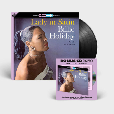LADY IN SATIN [180G LP+CD]