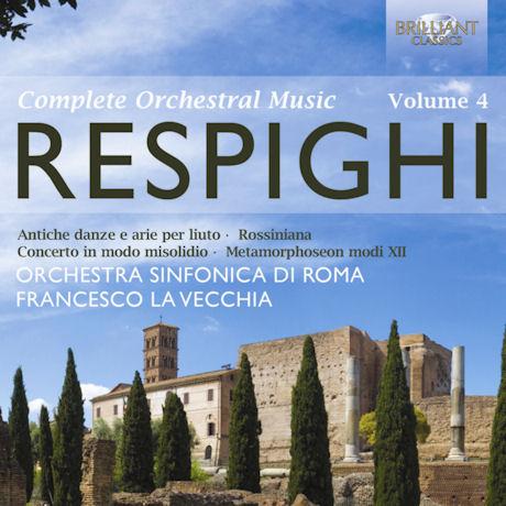 COMPLETE ORCHESTRAL MUSIC VOL.4/ FRANCESCO LA VECCHIA