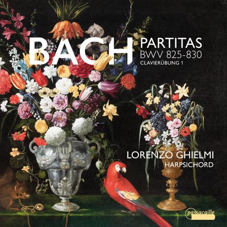 PARTITAS BWV 825-830/ LORENZO GHIELMI [바흐: 파르티타 전곡 - 로렌조 기엘미]