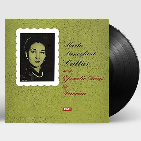 SINGS OPERATIC ARIAS/ MARIA CALLAS [푸치니: 오페라 아리아 - 마리아 칼라스] [LP]