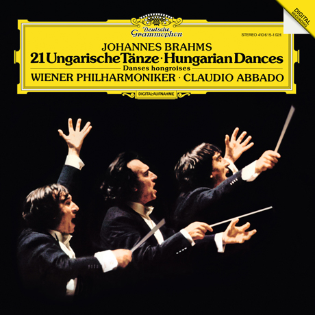 21 HUNGARIAN DANCES/ CLAUDIO ABBADO [LP] [브람스: 헝가리 춤곡]