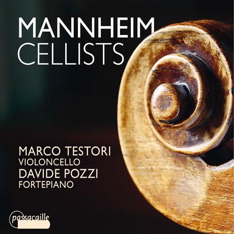 MANNHEIM CELLISTS/ MARCO TESTORI, DAVIDE POZZI [만하임의 첼리스트들: 트리클러, 필츠, 셰츠키, 리터 - 첼로 소나타]