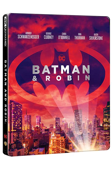 배트맨 앤 로빈 4K UHD+BD [스틸북 한정판] [BATMAN & ROBIN]