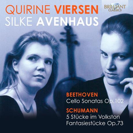 MUSIC FOR CELLO AND PIANO/ QUIRINE VIERSEN, SILKE AVENHAUS