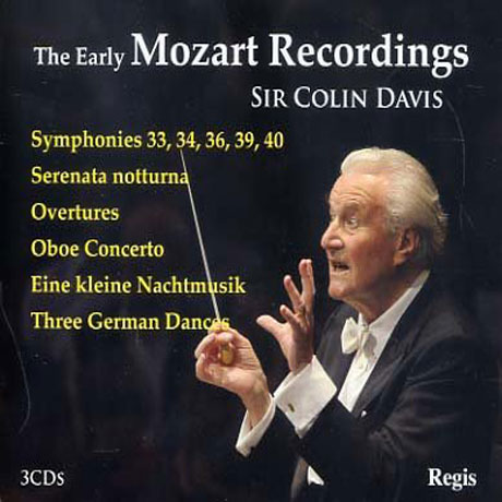 THE EARLY MOZART RECORDINGS/ COLIN DAVIS