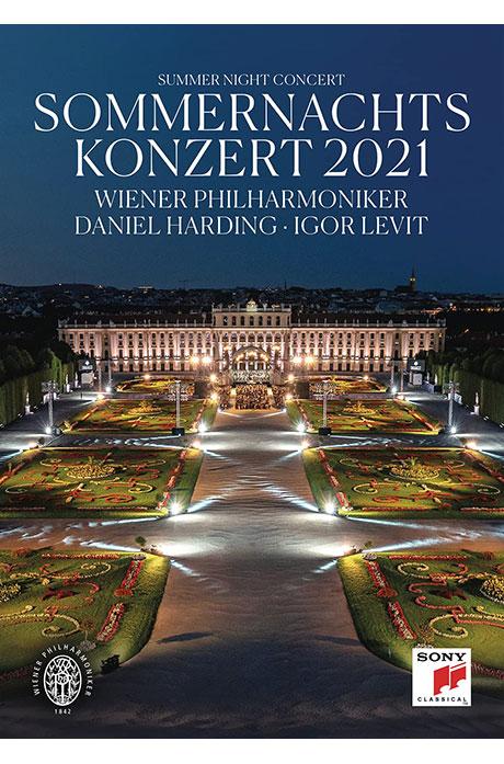 2021 SUMMER NIGHT CONCERT/ DANIEL HARDING, IGOR LEVIT [2021 빈 필하모닉 여름밤 콘서트 - 다니엘하딩, 이고르 레빗]