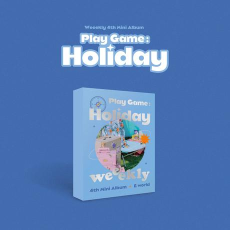 PLAY GAME: HOLIDAY [미니 4집] [E WORLD VER]