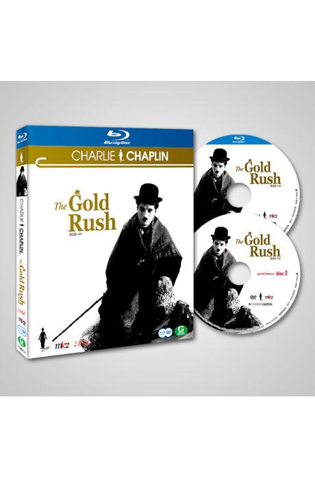 찰리 채플린: 황금광 시대 [BD+DVD] [THE GOLD RUSH]