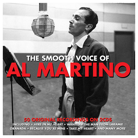 THE SMOOTH VOICE OF AL MARTINO