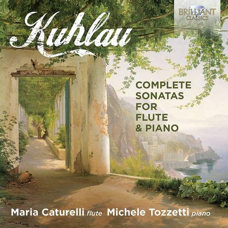 COMPLETE SONATAS FOR FLUTE & PIANO/ MARIA CATURELLI, MICHELE TOZZETTI [쿨라우: 플루트 소나타 전곡 - 마리아 카투렐리]