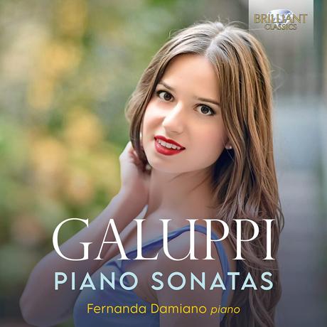 PIANO SONATAS/ FERNANDA DAMIANO [갈루피: 피아노 소나타 - 페르난다 다미아노]