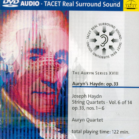 STRING QUARTETS VOL.6: OP.33/ AURYN QUARTET [DVD AUDIO]