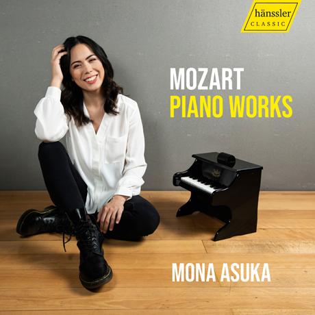 PIANO WORKS/ MONA ASUKA [모차르트: 피아노 소나타, 론도, 미뉴에트 - 모나 아주카]