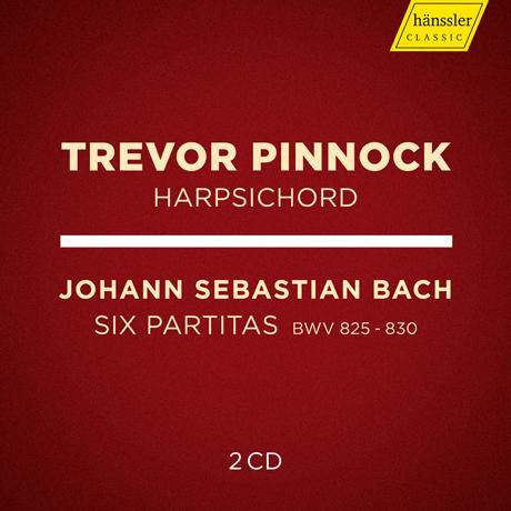 SIX PARTITAS BWV 825-830/ TREVOR PINNOCK [바흐: 건반 파르티타 전곡 - 트레버 피녹]
