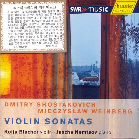 VIOLIN SONATAS/ KOLJA BLACHER, JASCHA NEMTSOV